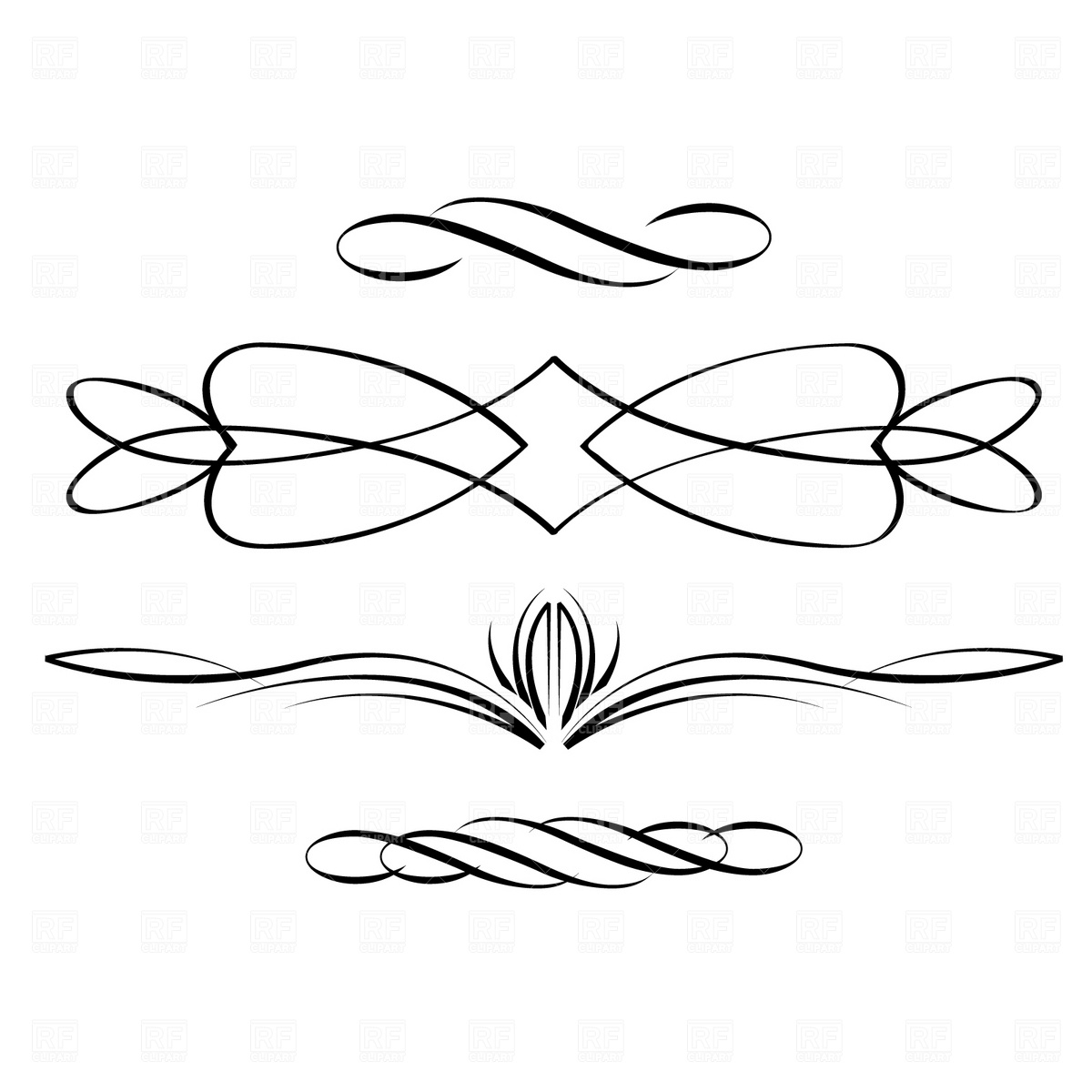 Calligraphy clipart #7, Download drawings