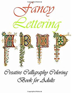 Calligraphy coloring #4, Download drawings