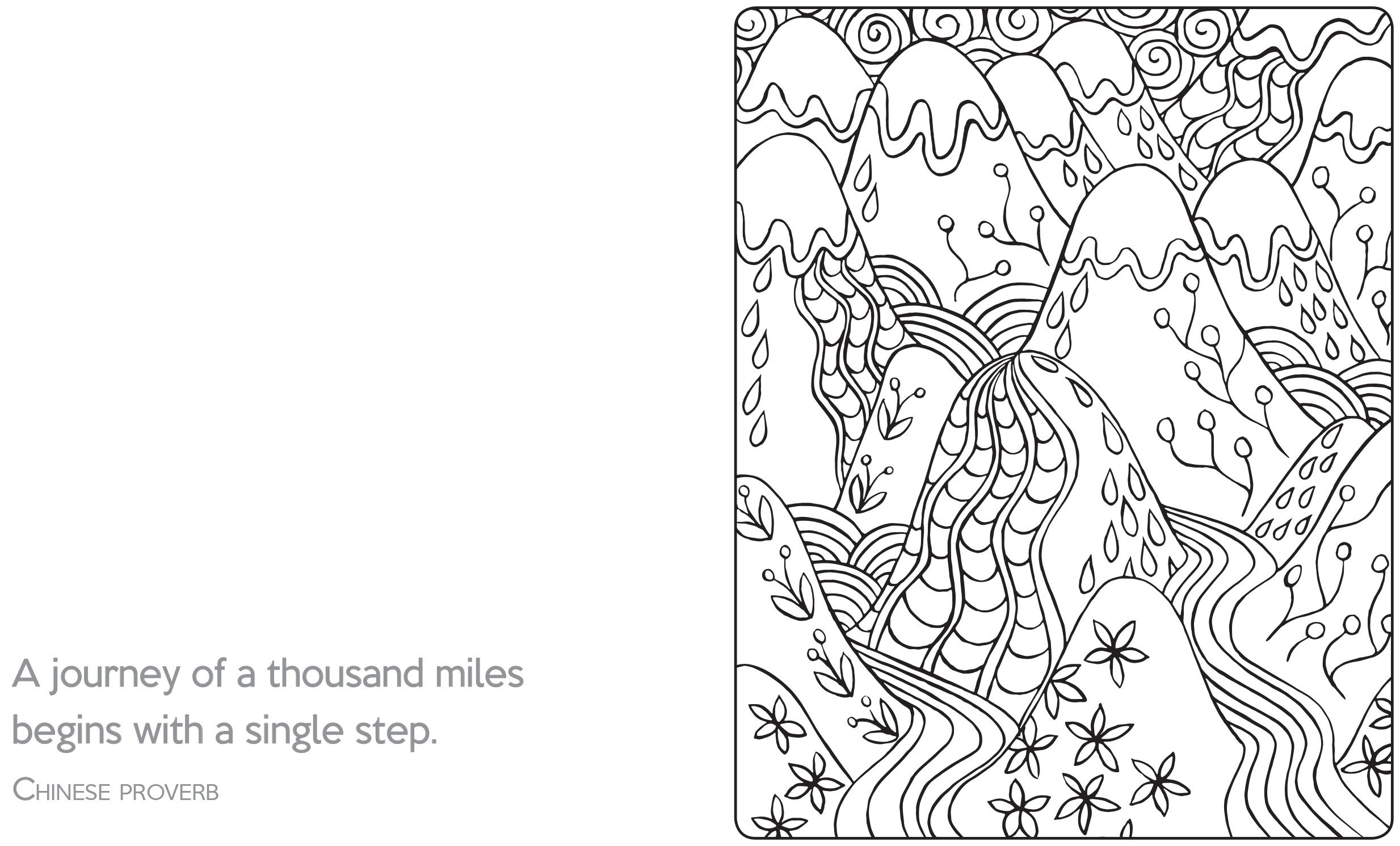 calm coloring pages - photo#22