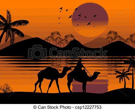 Camel Caravan clipart #7, Download drawings