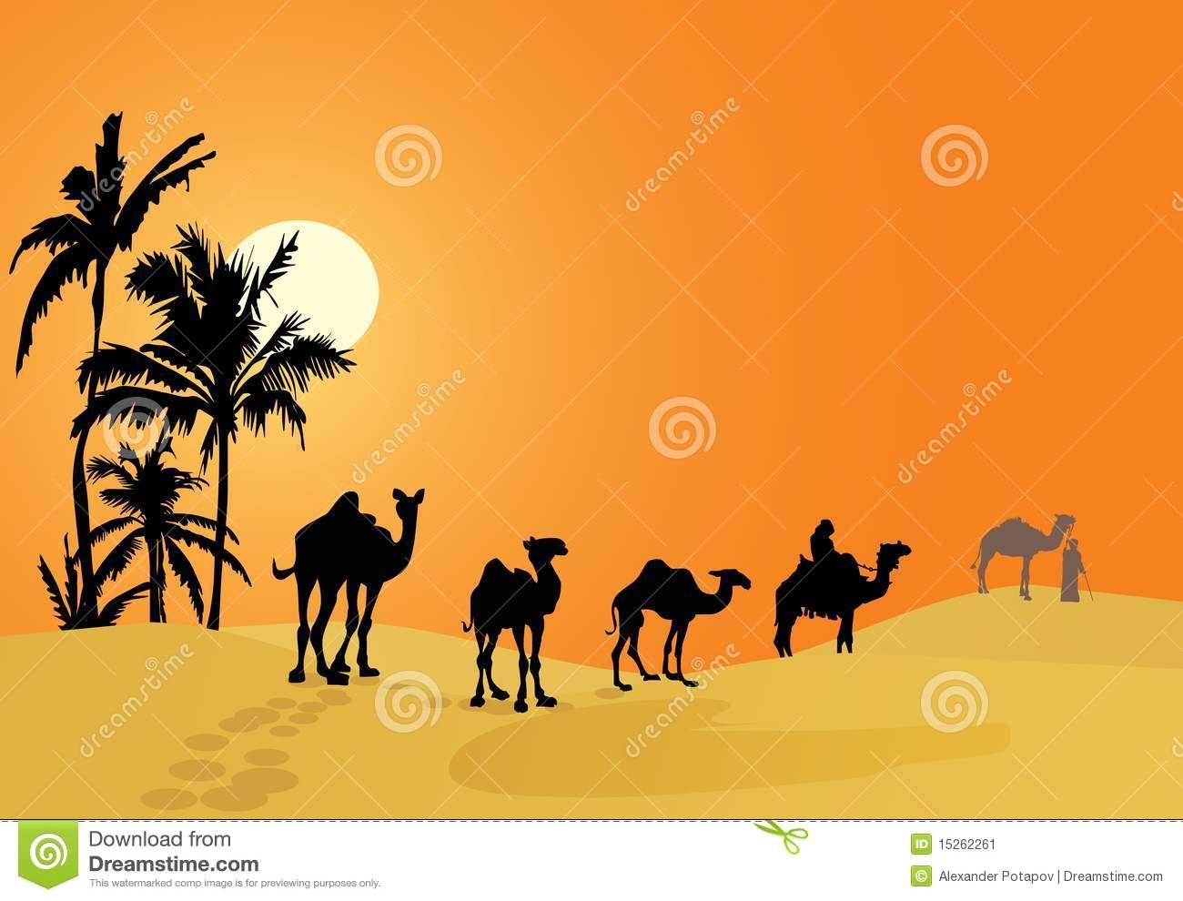 Camel Caravan clipart #5, Download drawings