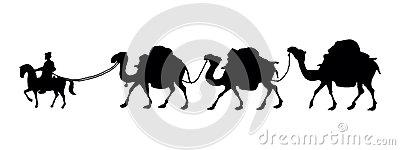 Camel Caravan clipart #3, Download drawings