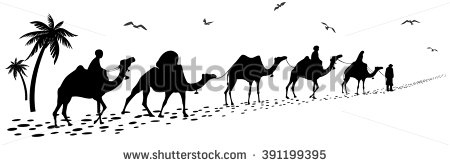Camel Train clipart #2, Download drawings