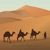 Camel Caravan svg #20, Download drawings