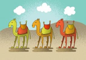 Camel Caravan svg #12, Download drawings