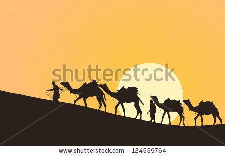 Camel Caravan svg #3, Download drawings