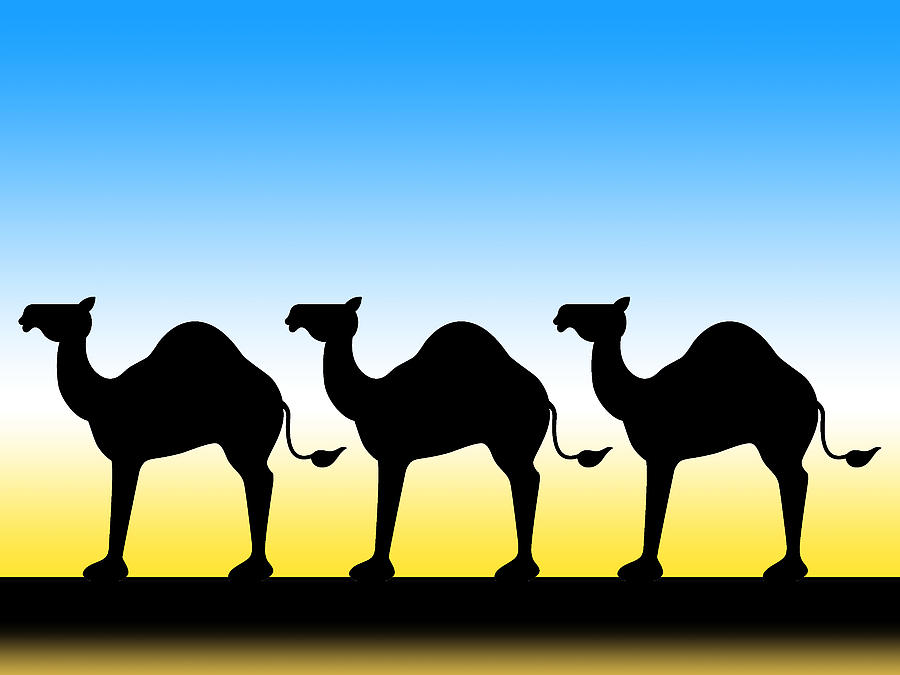 Camel Train clipart #4, Download drawings