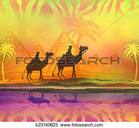 Camel Train clipart #6, Download drawings