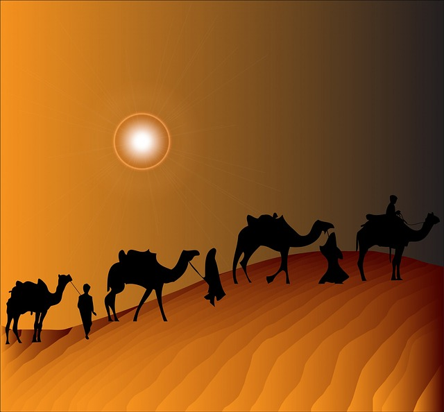 Camel Train clipart #1, Download drawings