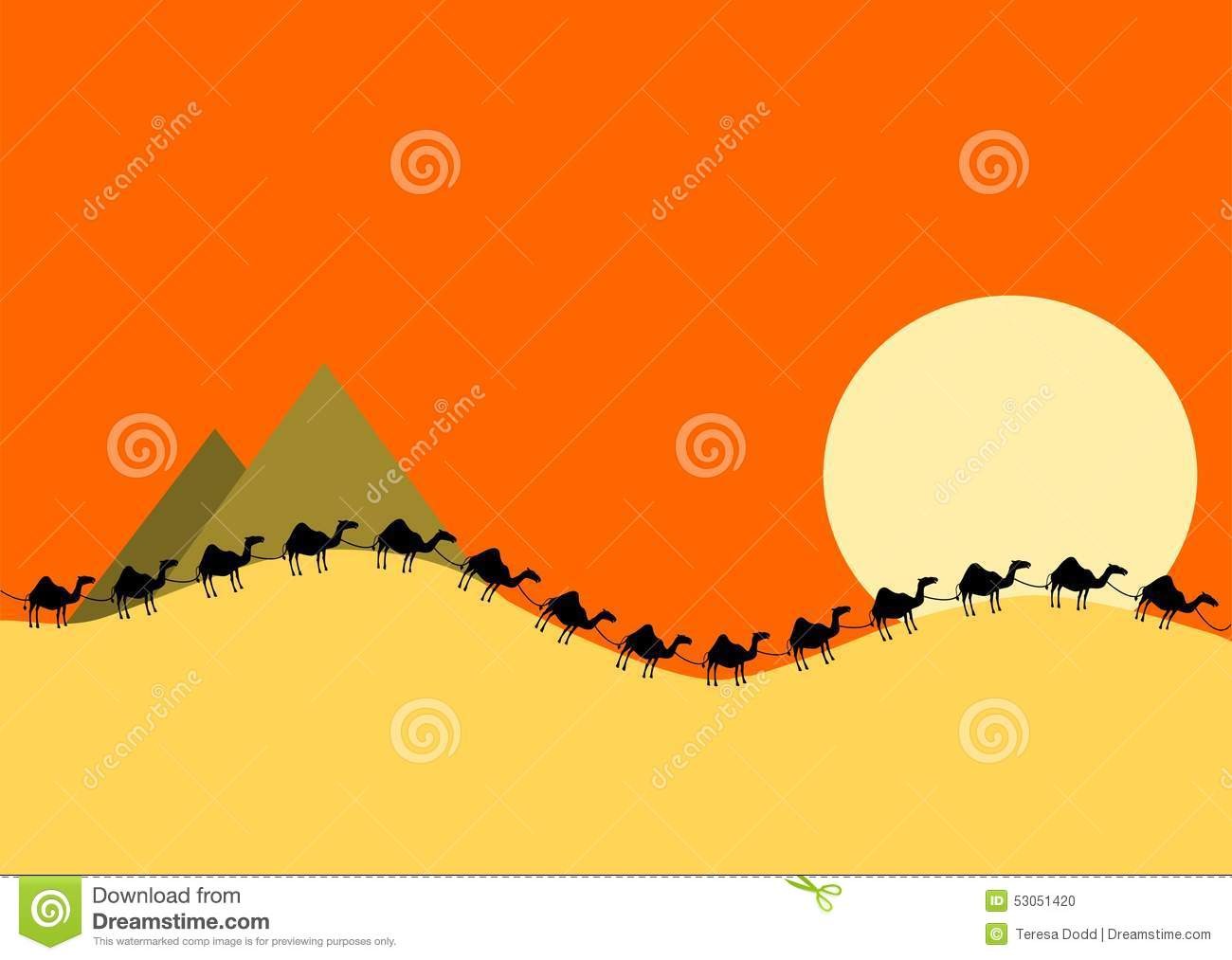 Camel Train clipart #11, Download drawings
