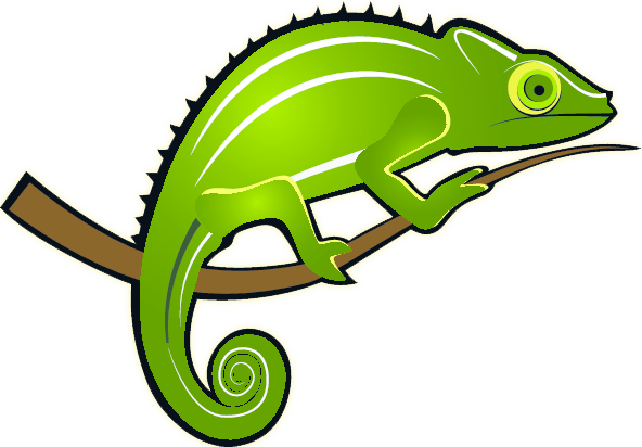 Jackson's Chameleon clipart #2, Download drawings