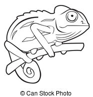 Cameleon clipart #14, Download drawings