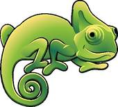 Cameleon clipart #16, Download drawings