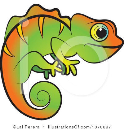 Jackson's Chameleon clipart #1, Download drawings