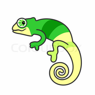Chameleon clipart #3, Download drawings