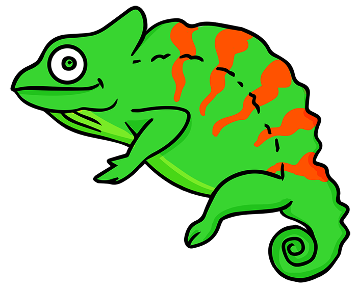 Cameleon clipart #17, Download drawings