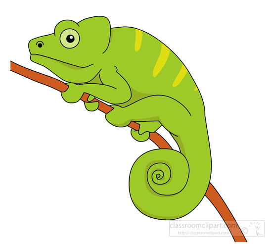Cameleon clipart #20, Download drawings