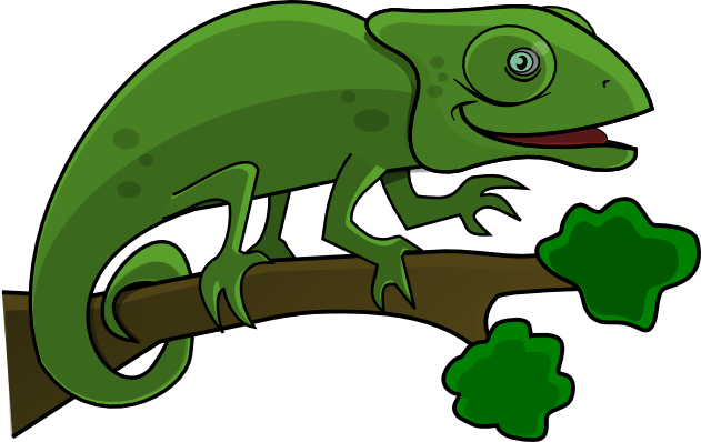 Cameleon clipart #7, Download drawings