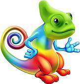 Jackson's Chameleon clipart #6, Download drawings