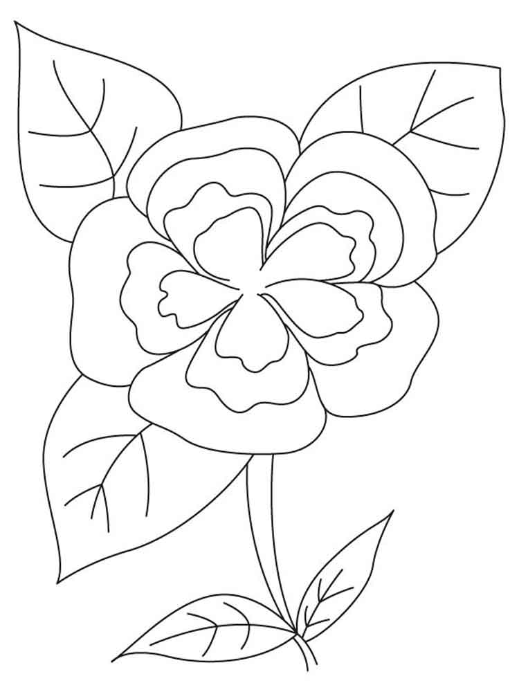 Camellia coloring #9, Download drawings