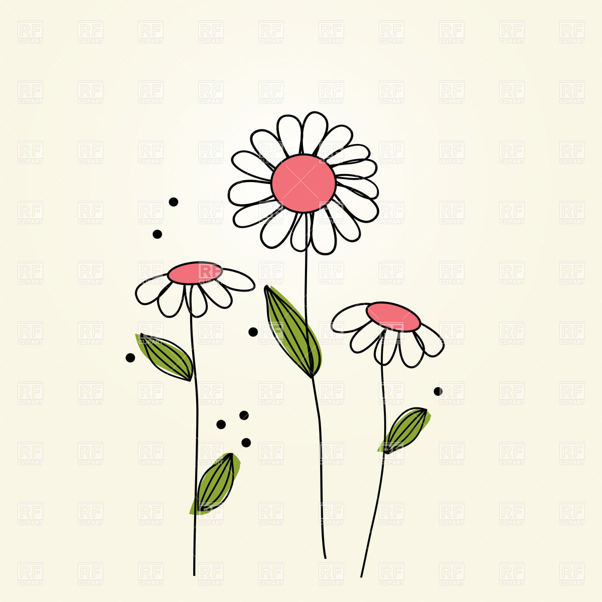 Camomile clipart #5, Download drawings
