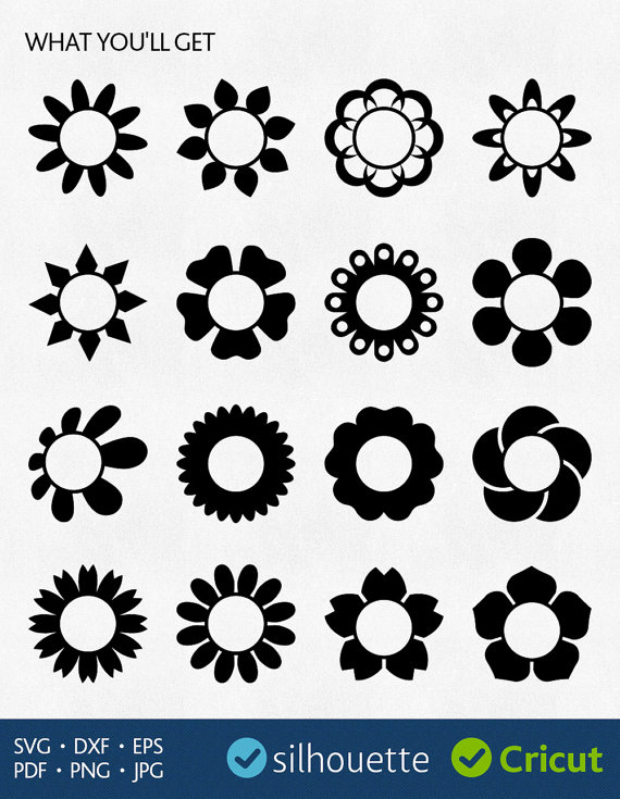Camomile svg #13, Download drawings