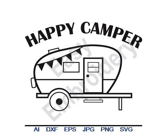 camper svg #1193, Download drawings