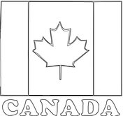 Canada coloring #14, Download drawings