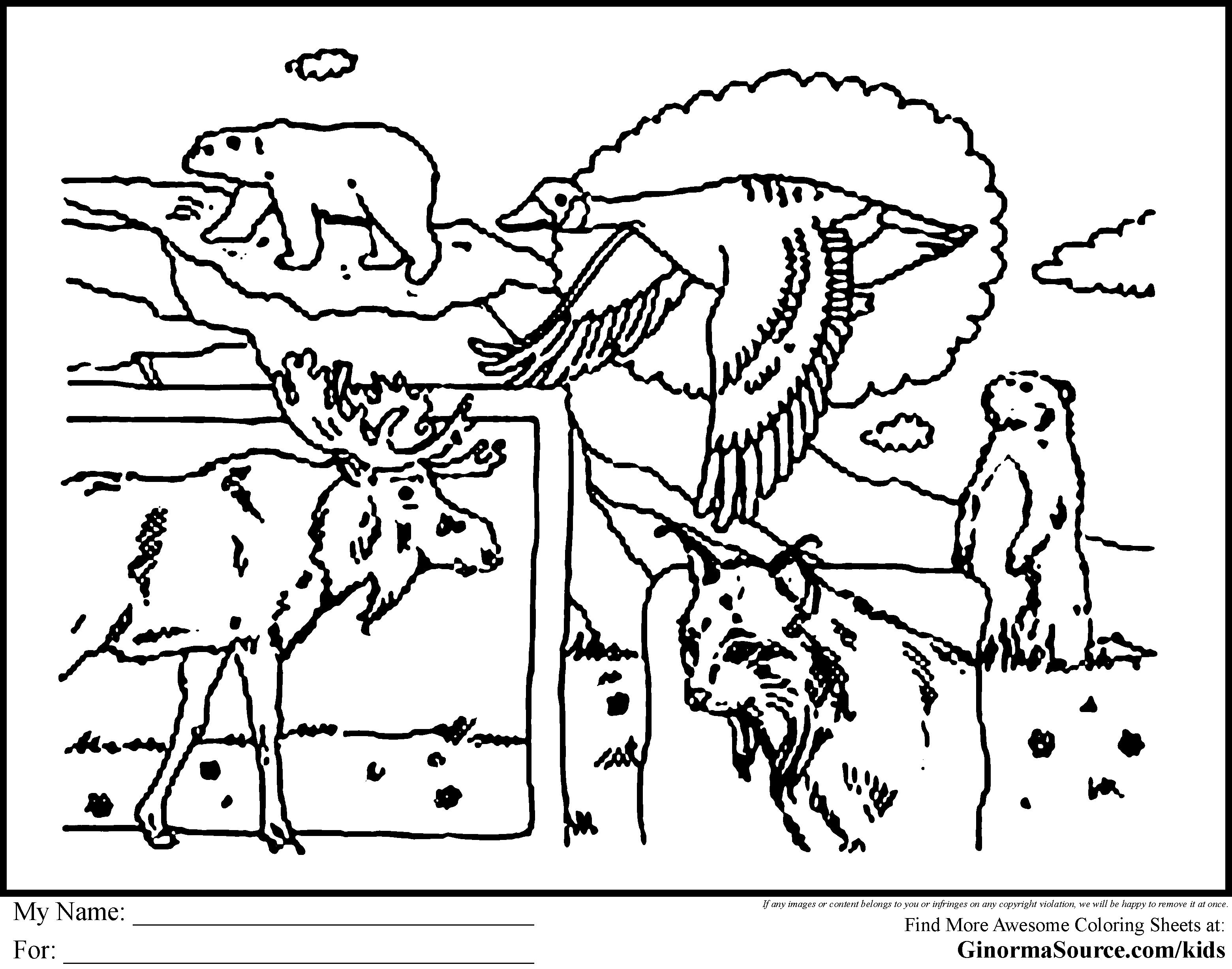 Canada coloring #2, Download drawings