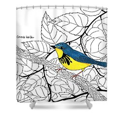 Canada Warbler coloring #4, Download drawings
