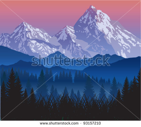 Canadian Rockies clipart #12, Download drawings