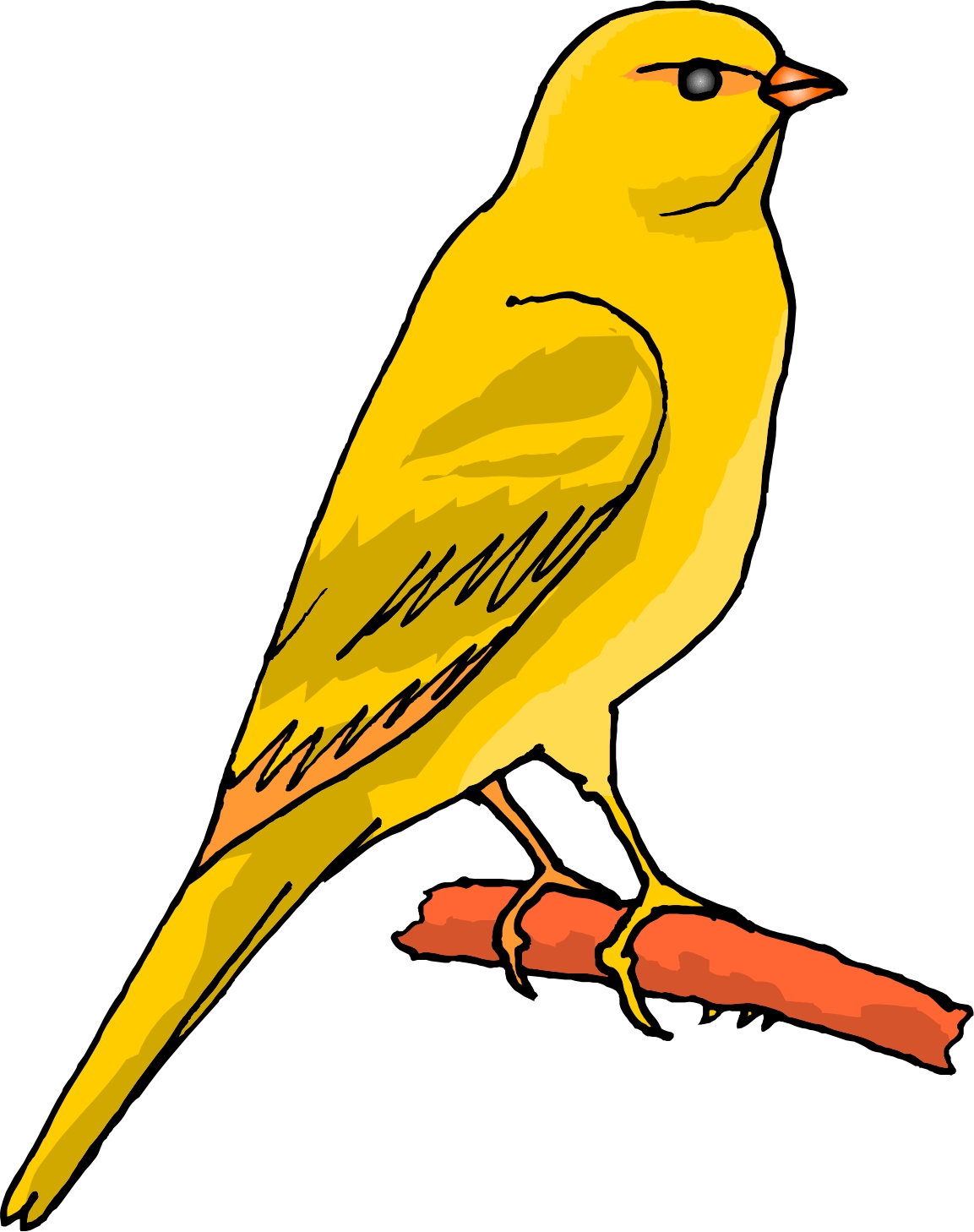 Canary clipart #4, Download drawings
