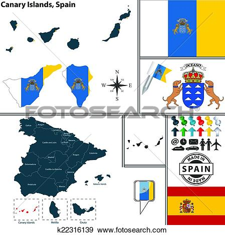 Canary Islands clipart #9, Download drawings