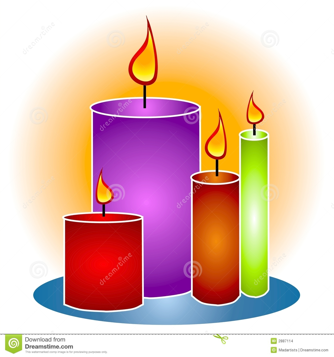 Candle clipart #5, Download drawings
