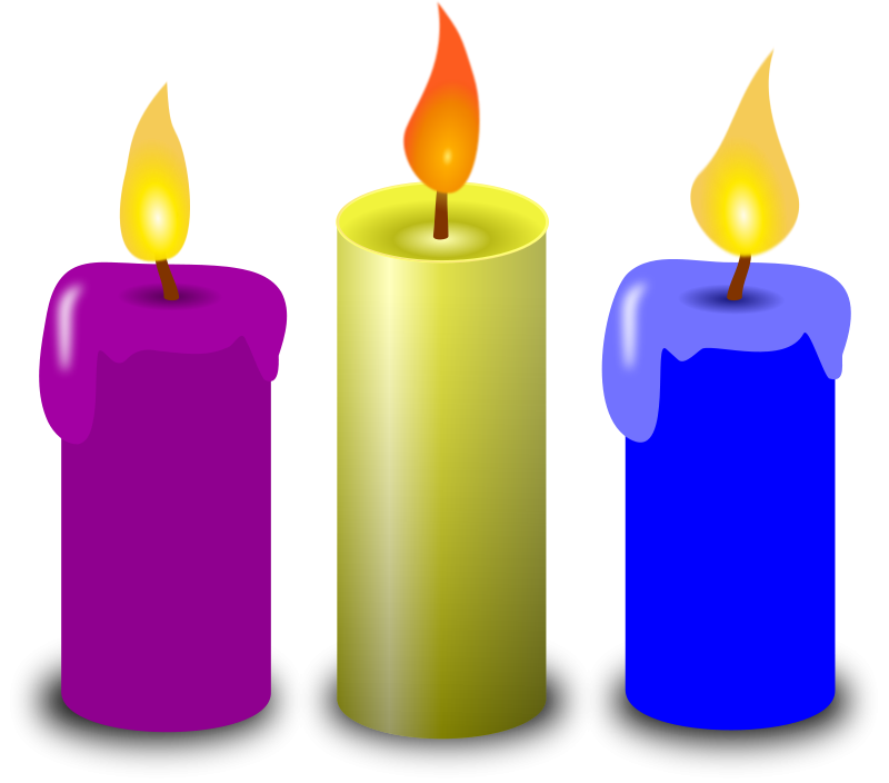 Candle clipart #3, Download drawings
