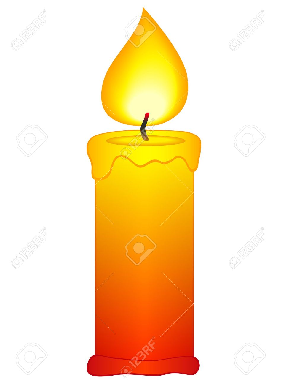 Candle clipart #20, Download drawings