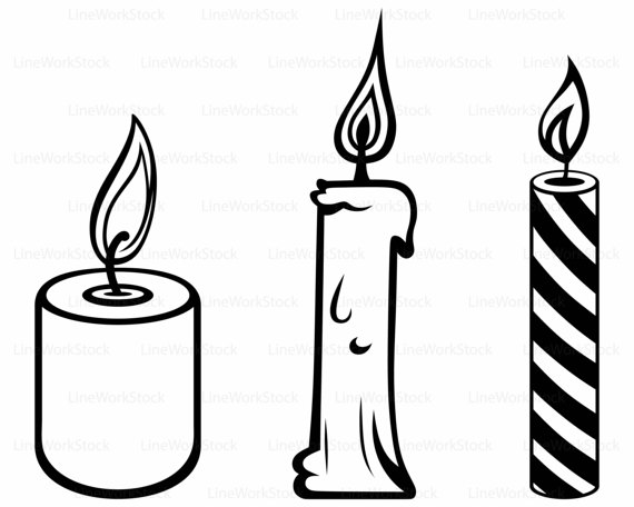 Candle svg #4, Download drawings