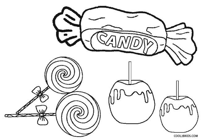 Candy coloring #17, Download drawings