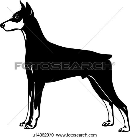Doberman Pinscher clipart #19, Download drawings