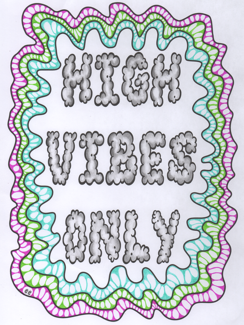 Cannabis coloring #6, Download drawings