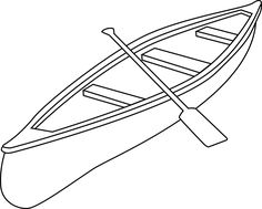 Canoe clipart #12, Download drawings