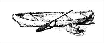 Canoe clipart #2, Download drawings