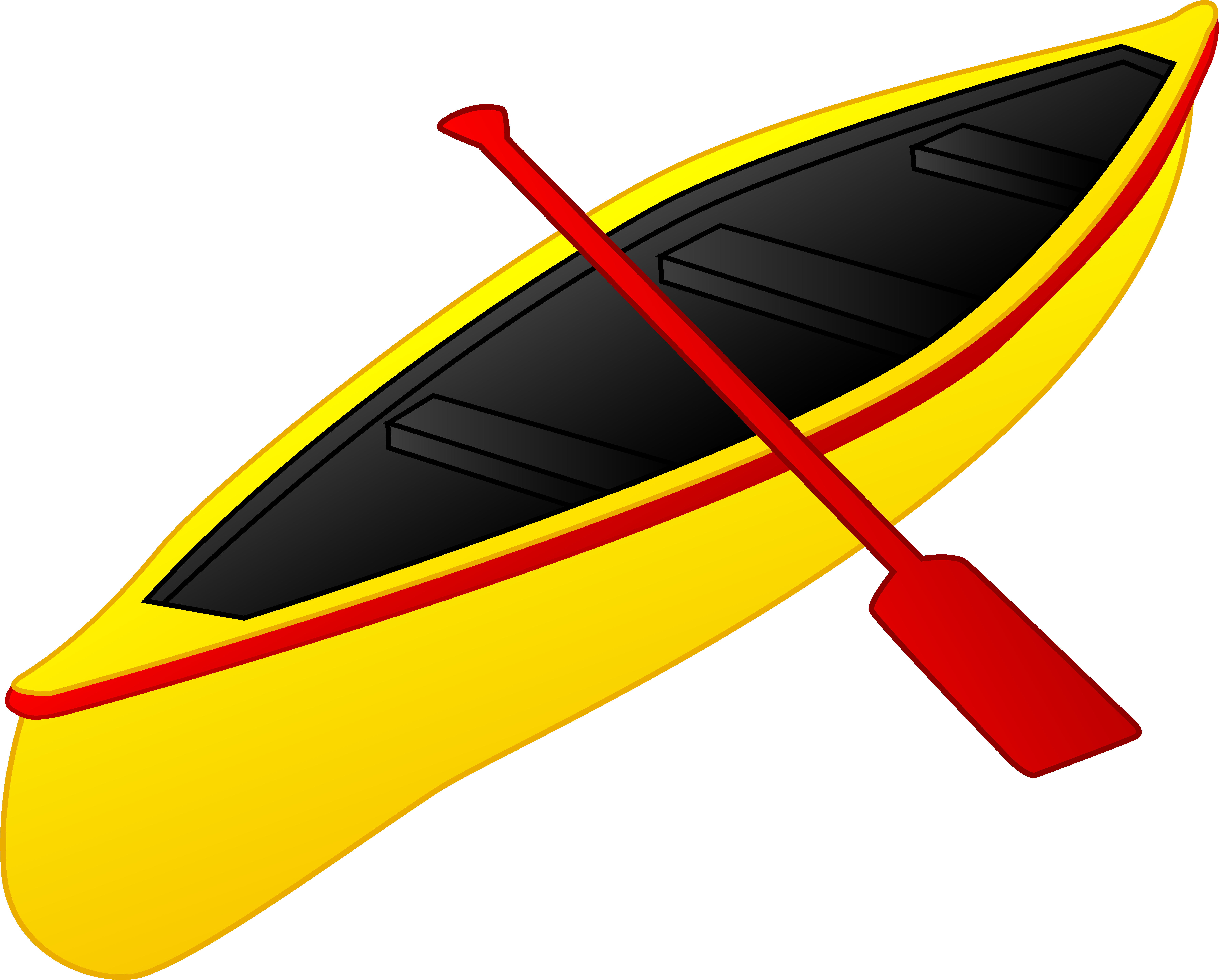 Canoe clipart #3, Download drawings
