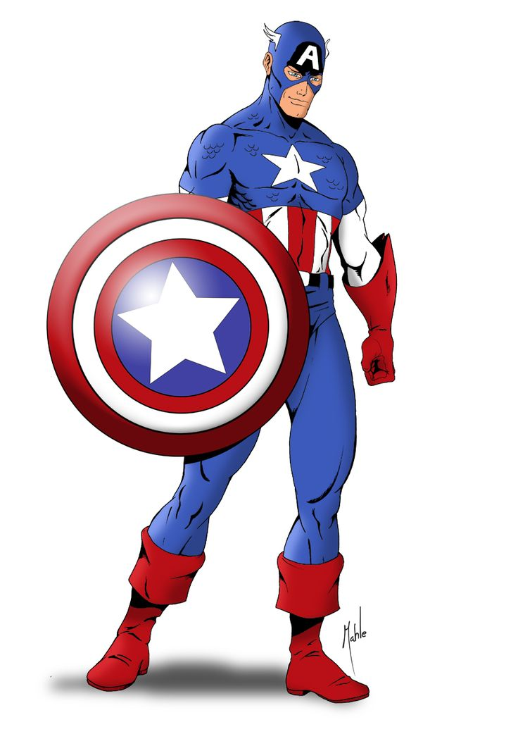 Captain America clipart #15, Download drawings
