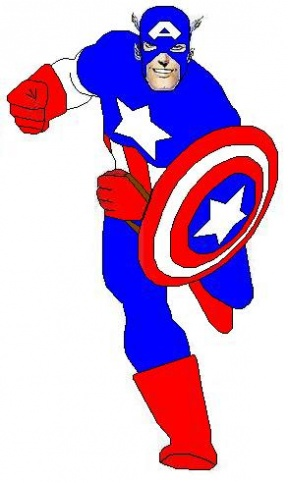 Captain America clipart #11, Download drawings