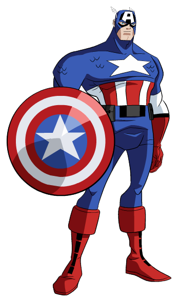 Captain America clipart #9, Download drawings