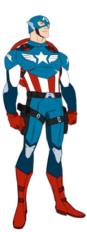 Captain America clipart #5, Download drawings