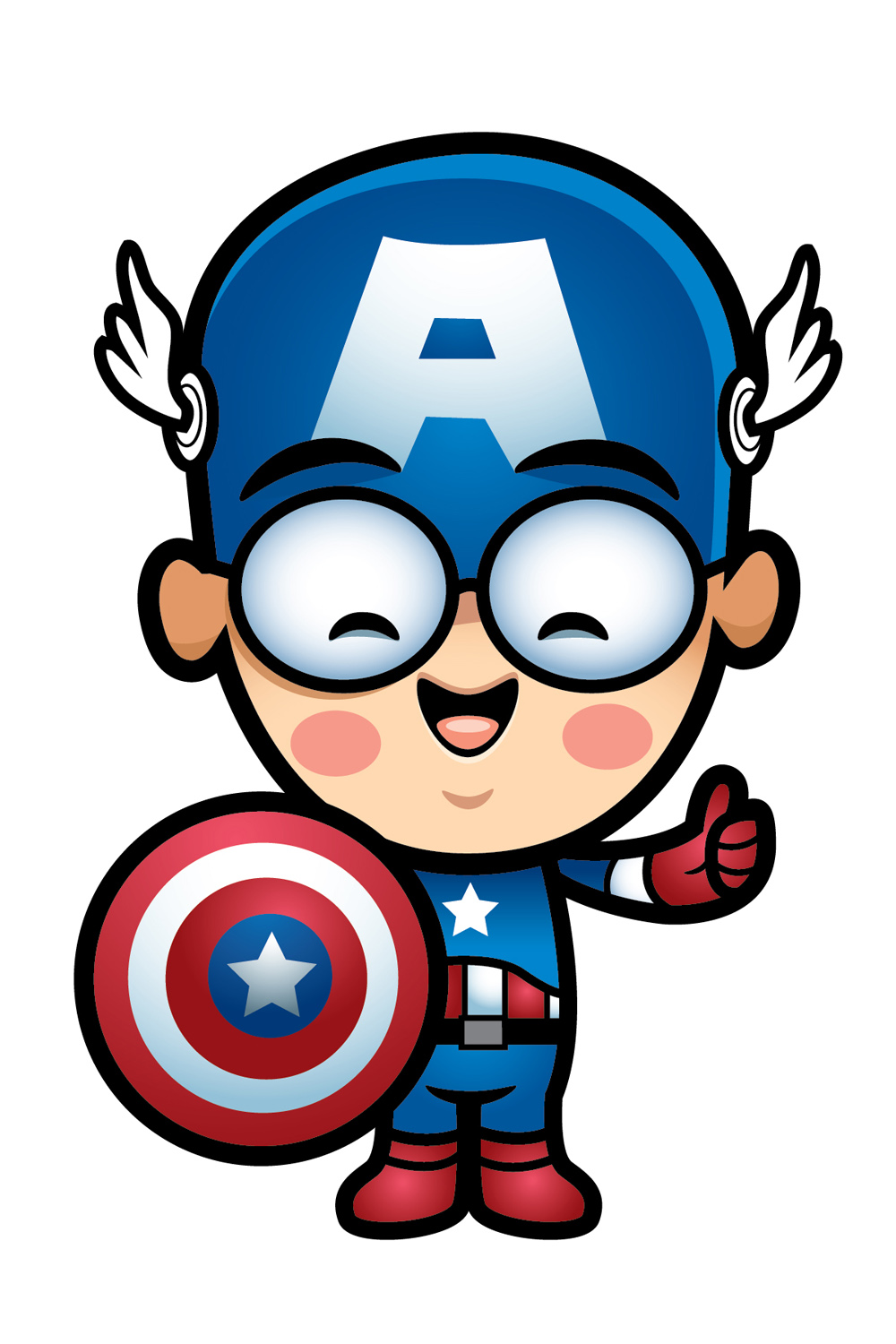 Captain America clipart #7, Download drawings