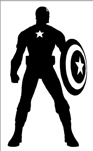 Captain America svg #2, Download drawings