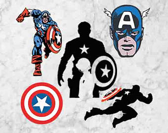 Captain America svg #11, Download drawings
